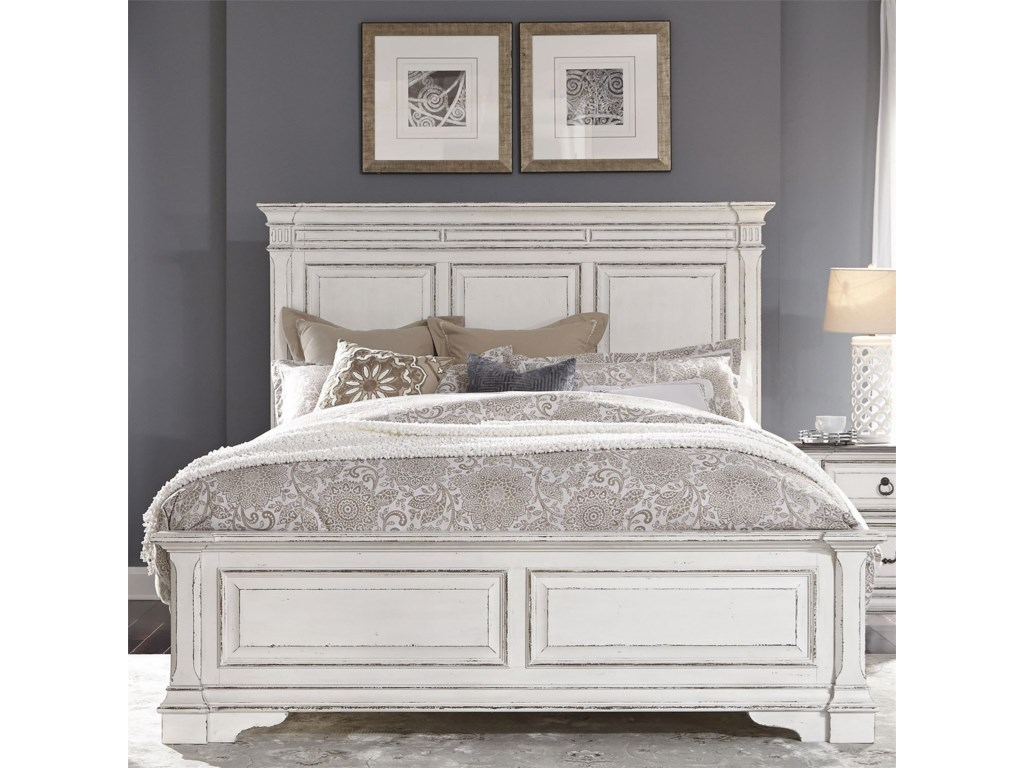 Vendor 5349 Abbey ParkKing Panel Bed
