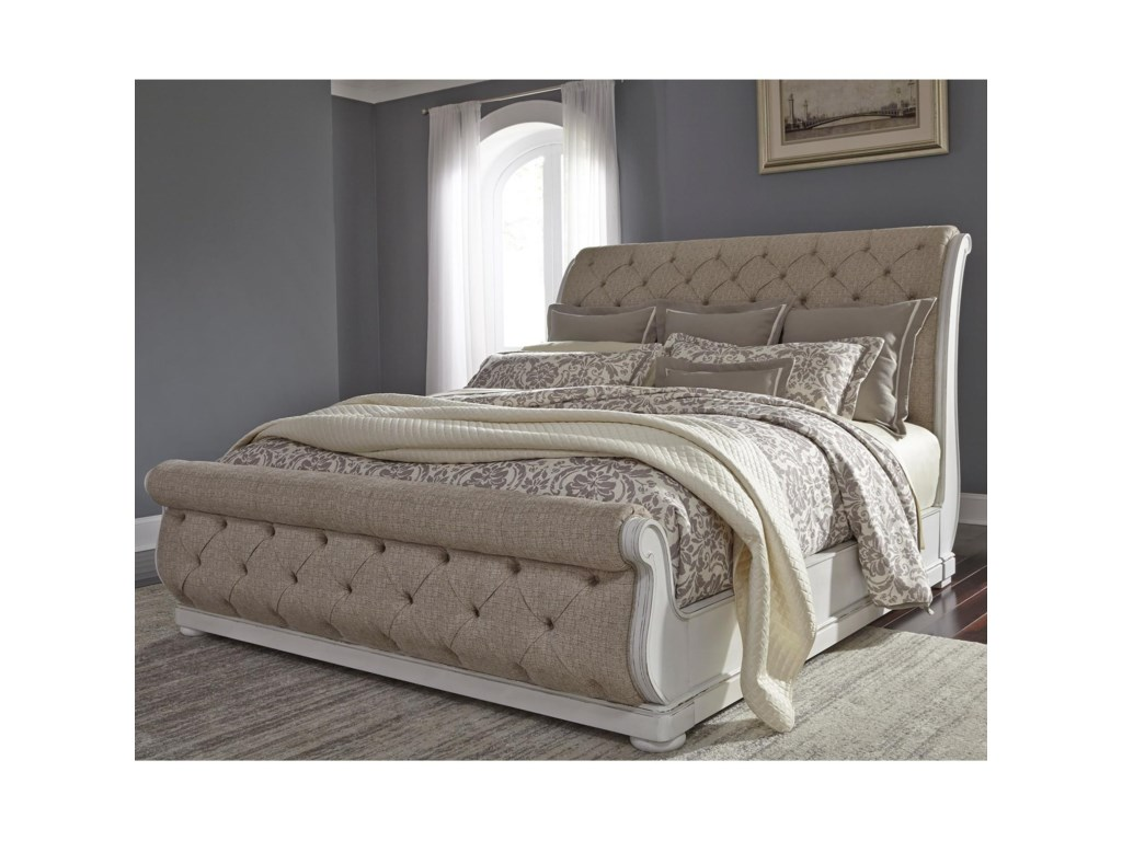 Liberty Furniture Abbey ParkKing Sleigh Bed