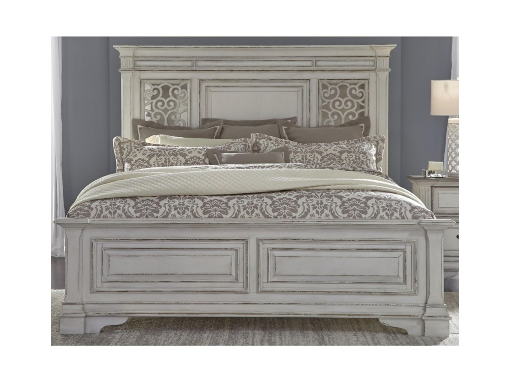 Liberty Furniture Abbey ParkQueen Panel Bed