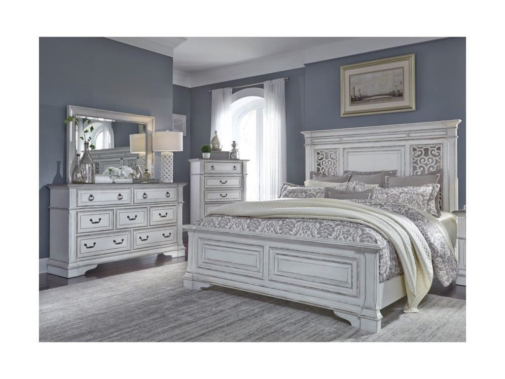 Vendor 5349 Abbey ParkQueen Bedroom Group