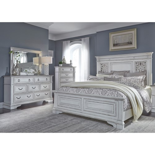 Liberty Furniture Abbey Park King Bedroom Group