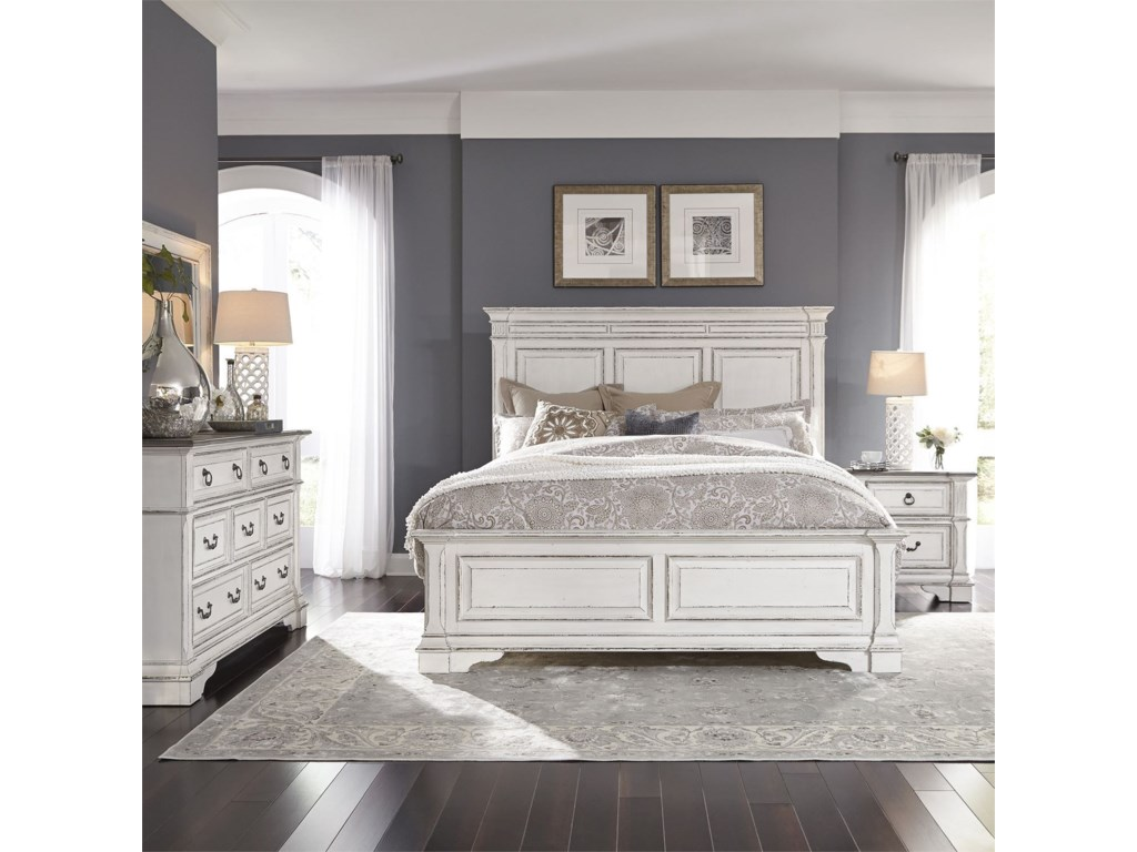 Liberty Furniture Abbey ParkQueen Bedroom Group