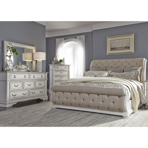 Liberty Furniture Abbey Park Queen Bedroom Group