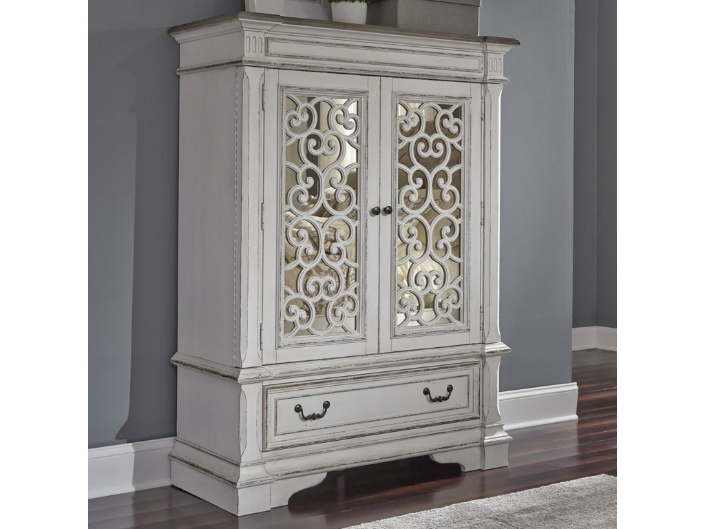 Freedom Furniture Abbey ParkChest with Doors