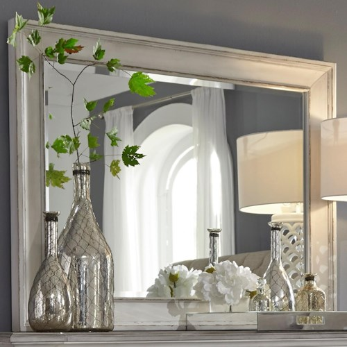 Liberty Furniture Abbey Park Traditional Dresser Mirror