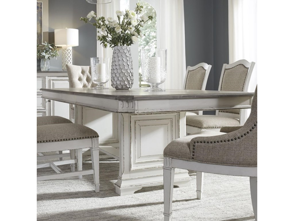 Liberty Furniture Abbey ParkTrestle Table