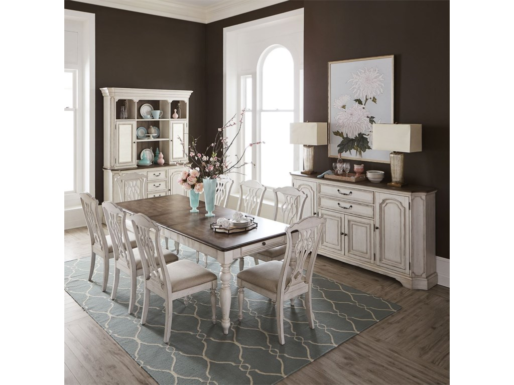 Liberty Furniture Abbey RoadFormal Dining Room Group