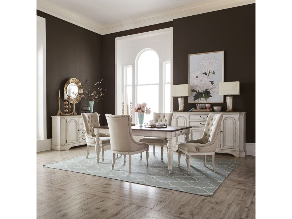 Liberty Furniture Abbey RoadCasual Dining Room Group