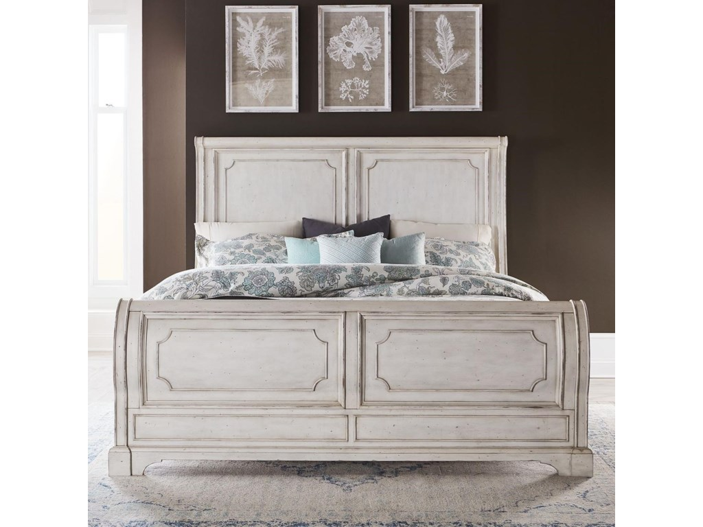 Liberty Furniture Abbey RoadCalifornia King Sleigh Bed
