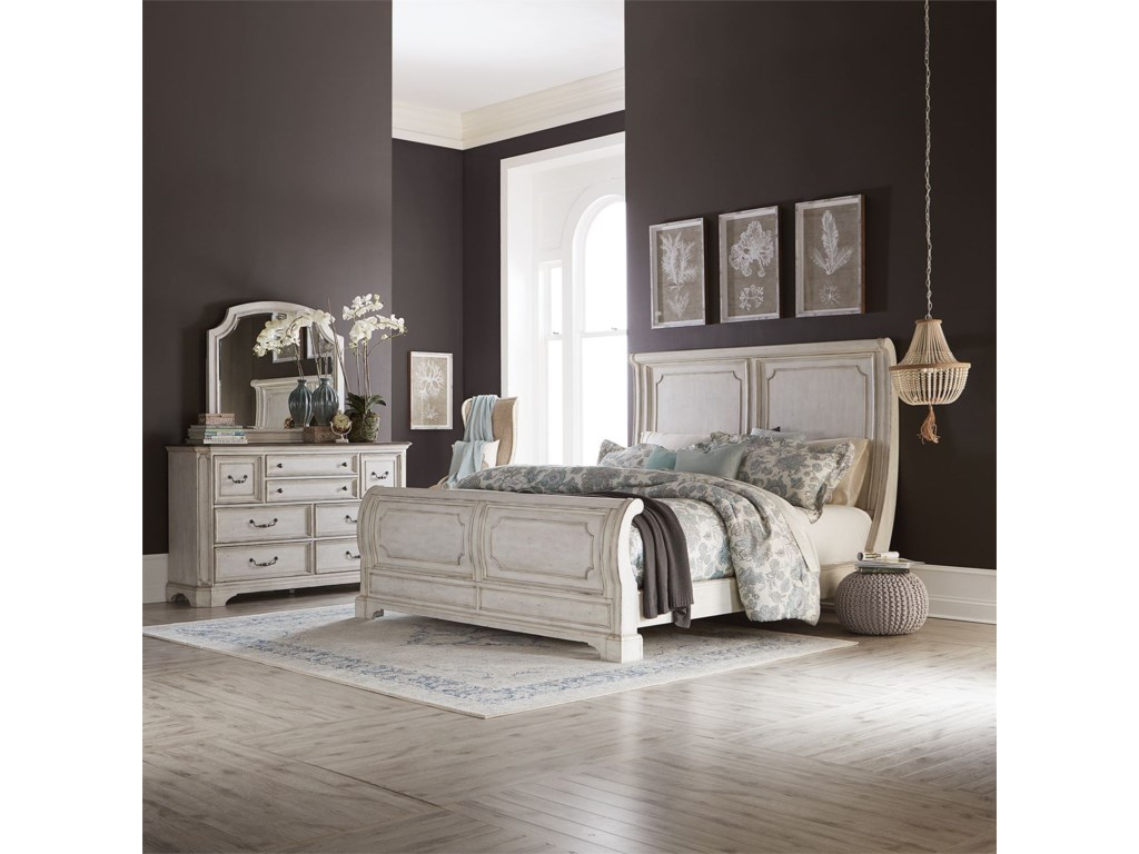 Liberty Furniture Abbey RoadKing Bedroom Group
