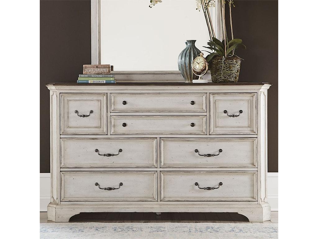 Vendor 5349 Abbey Road8-Drawer Dresser