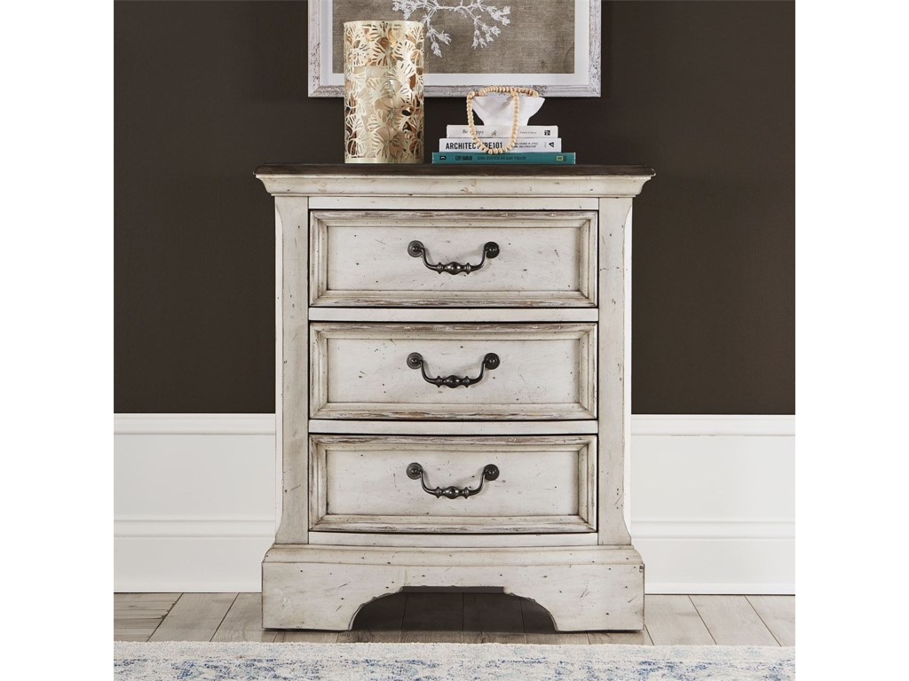 Liberty Furniture Abbey Road3-Drawer Nightstand