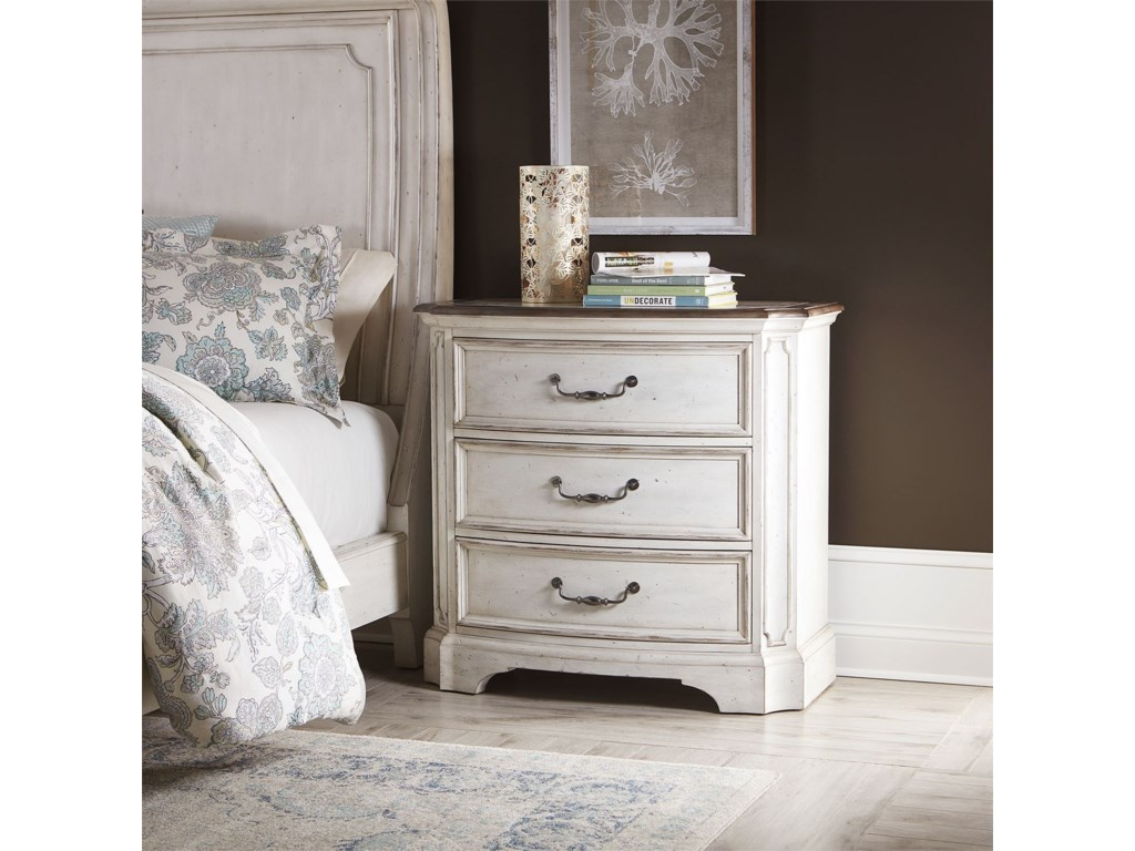 Liberty Furniture Abbey RoadBedside Chest