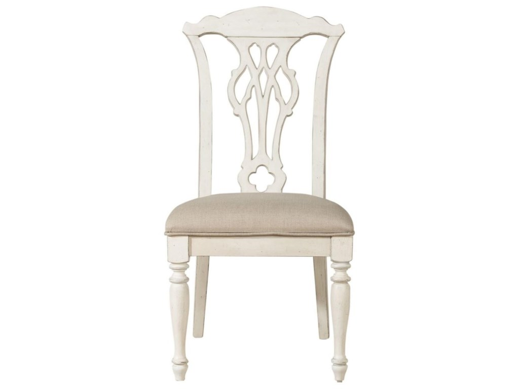 Liberty Furniture Abbey RoadSplat Back Side Chair