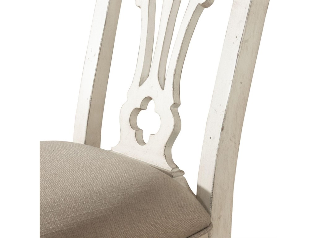 Liberty Furniture Abbey RoadSplat Back Side Chair