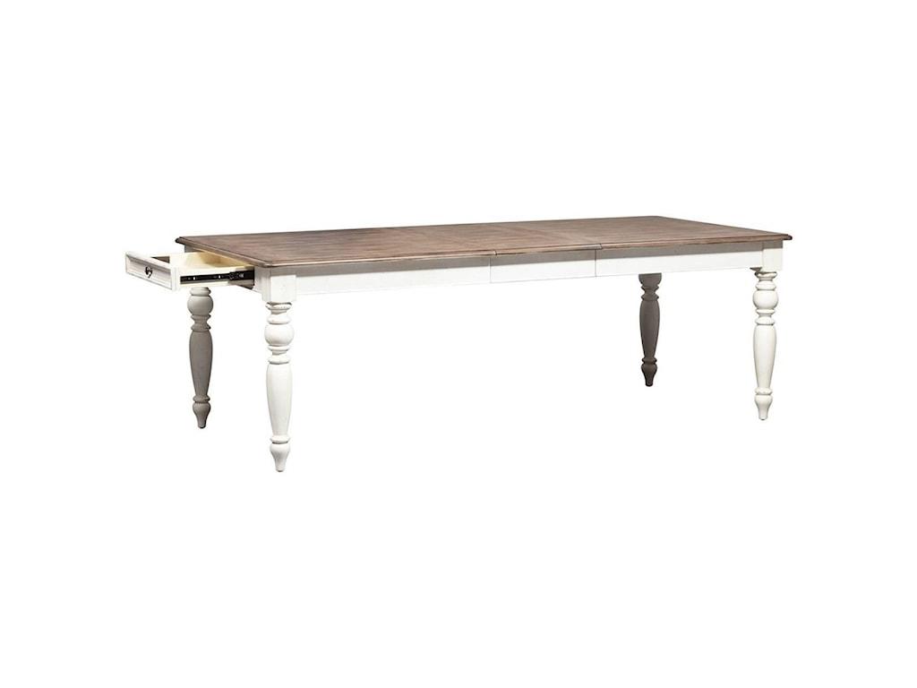 Liberty Furniture Abbey RoadRectangular Leg Table