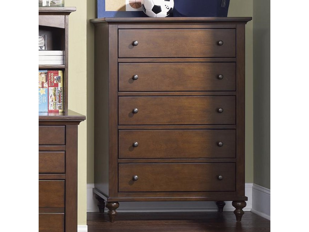 Vendor 5349 Abbott Ridge Youth Bedroom5 Drawer Chest