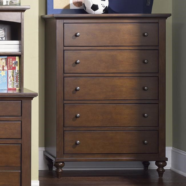 Liberty Furniture Abbott Ridge Youth Bedroom5 Drawer Chest