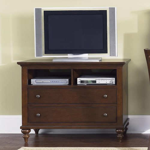 Liberty Furniture Abbott Ridge Youth Bedroom Media Chest