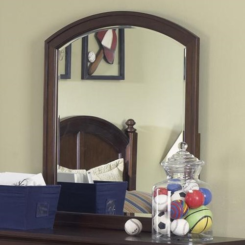 Liberty Furniture Abbott Ridge Youth Bedroom Arched Vertical Mirror