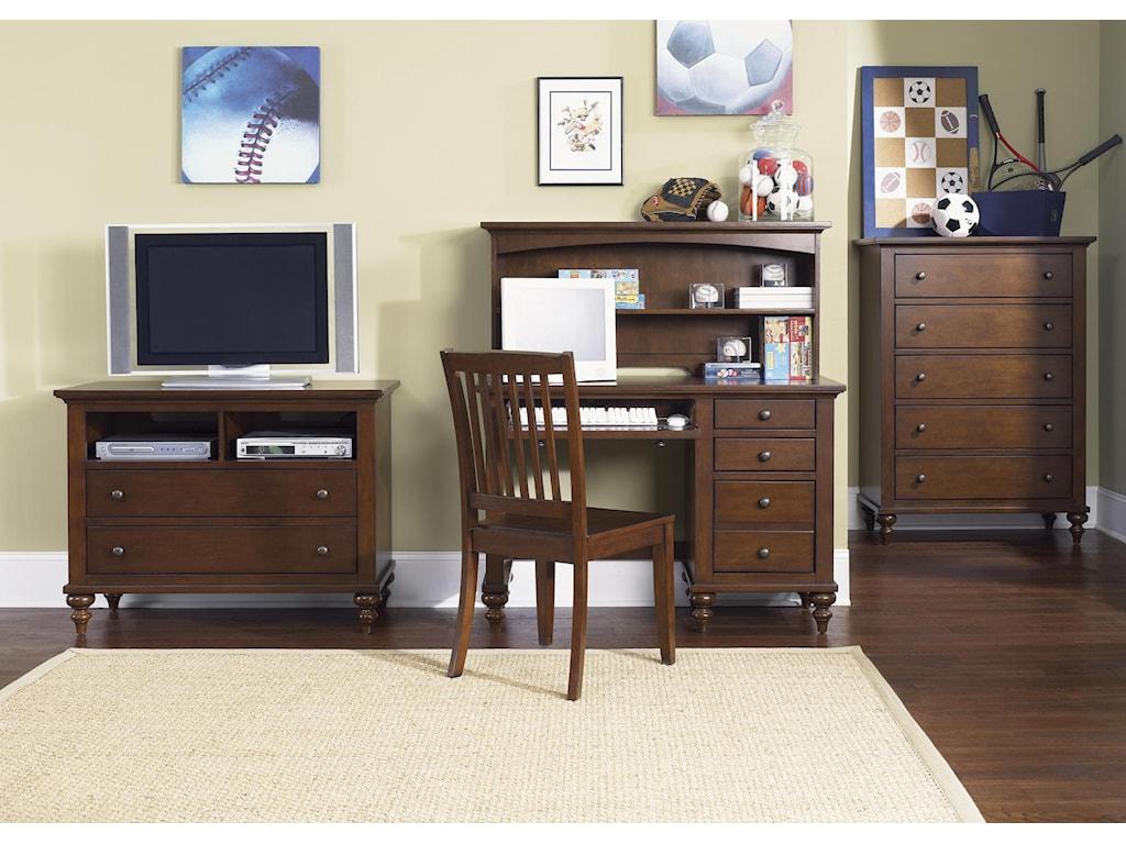 Vendor 5349 Abbott Ridge Youth BedroomStudent Desk Base