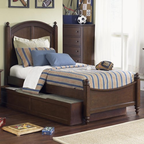 Liberty Furniture Abbott Ridge Youth Bedroom Full Panel Bed