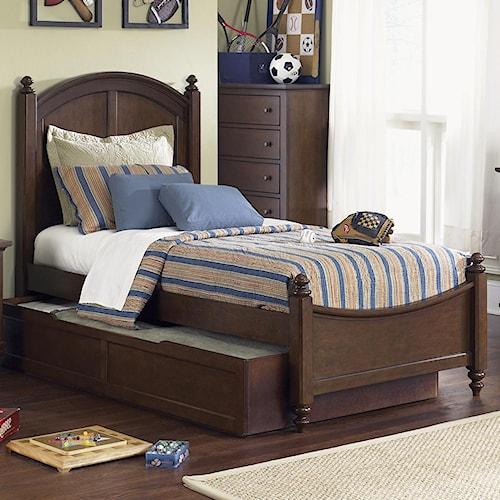 Liberty Furniture Abbott Ridge Youth Bedroom Twin Panel Bed