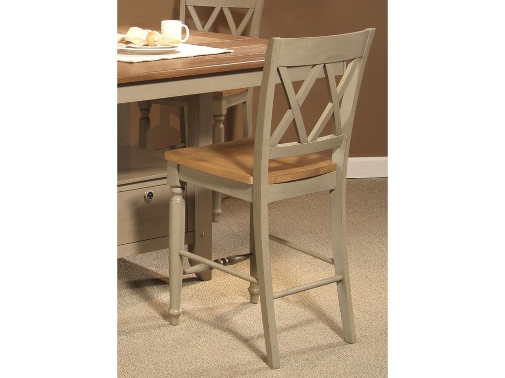 Liberty Furniture Al FrescoDouble X-Back Counter Chair