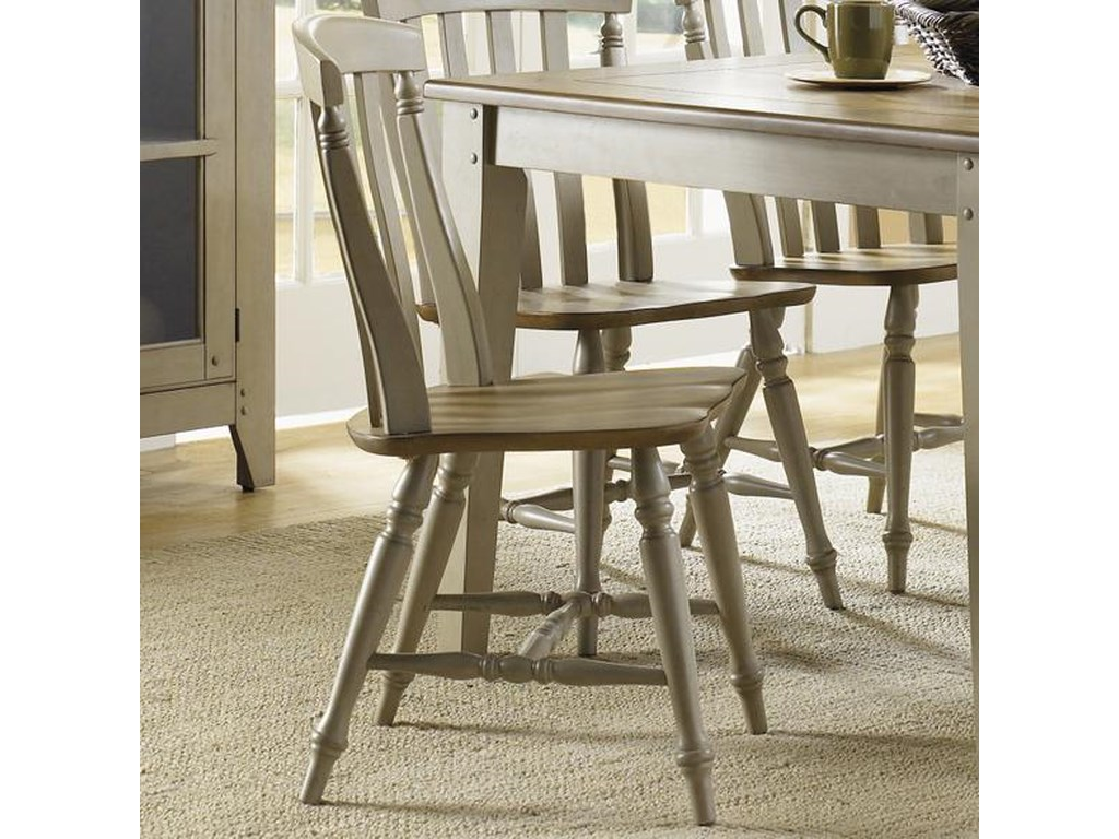 Liberty Furniture Al Fresco 541 C1500s Side Chair With Slat Back