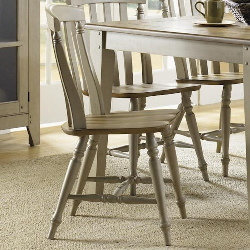 Liberty Furniture Al Fresco Side Chair with Slat Back