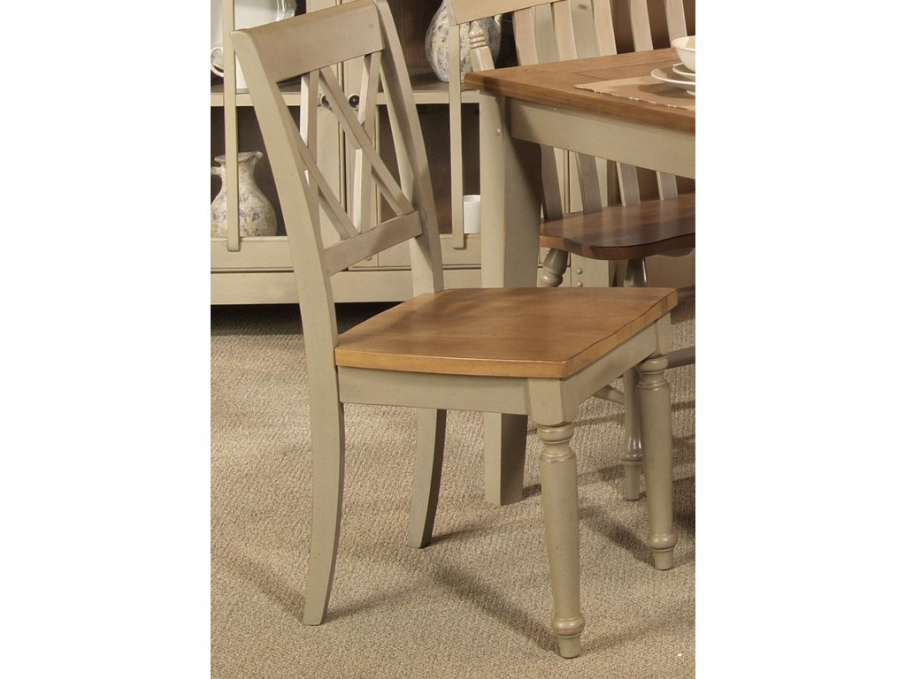 Liberty Furniture Al FrescoDouble X-Back Side Chair
