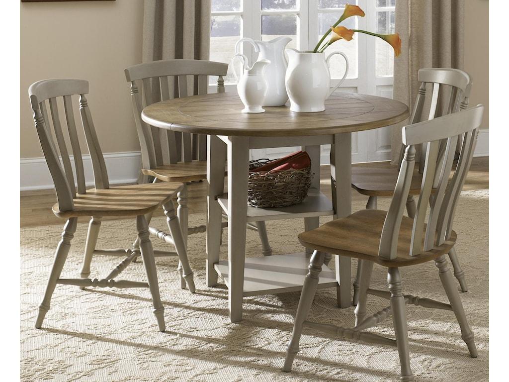 Liberty Furniture Al FrescoDrop-Leaf Dining Table