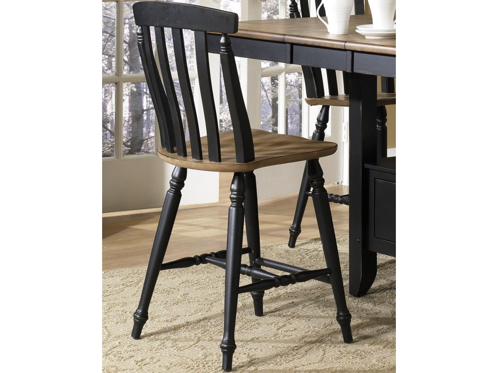 Liberty Furniture Al Fresco IISlat Back Counter Height Chair