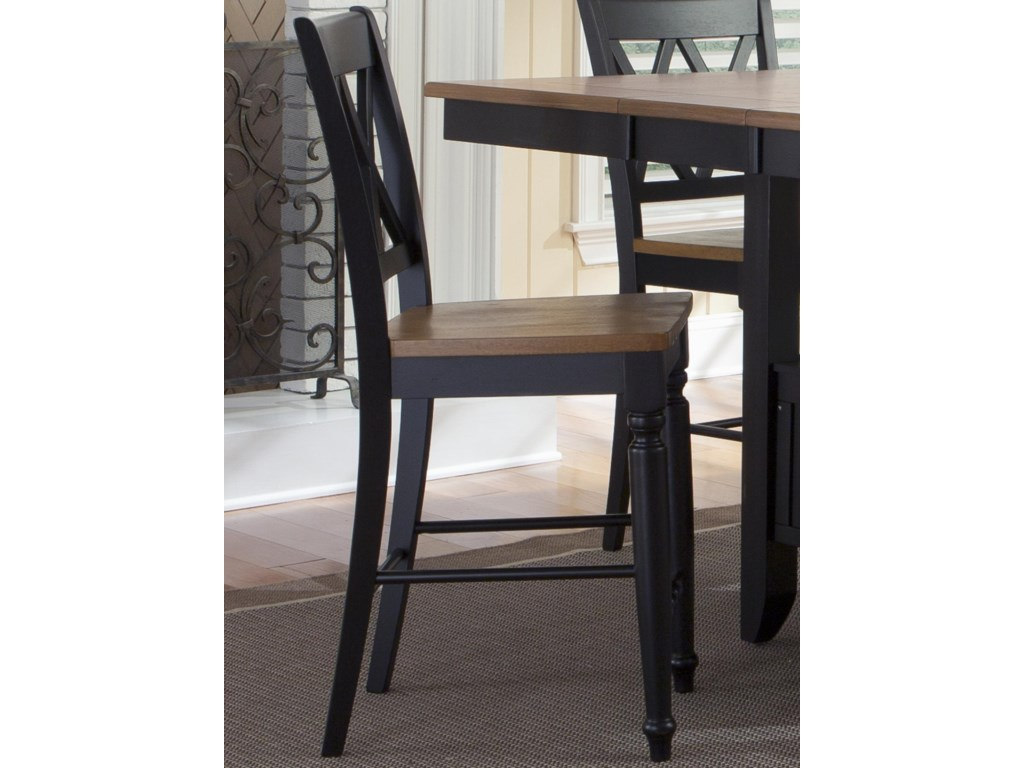 Liberty Furniture Al Fresco IIDouble X-Back Counter Chair