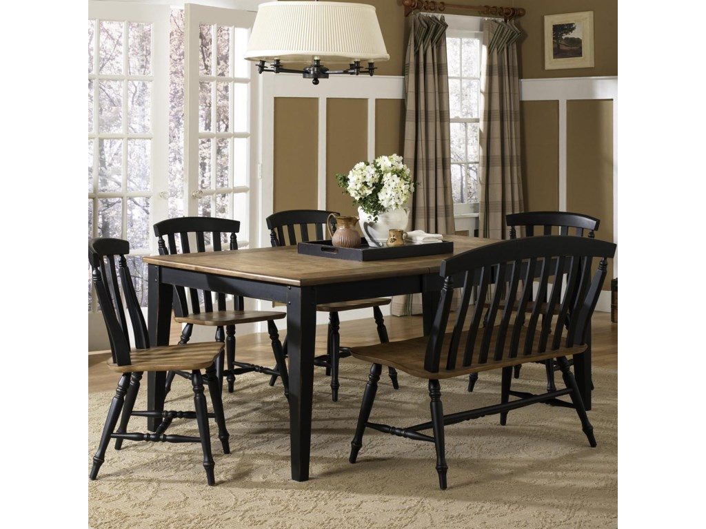 Liberty Furniture Al Fresco II6 Piece Dining Table and Chairs Set