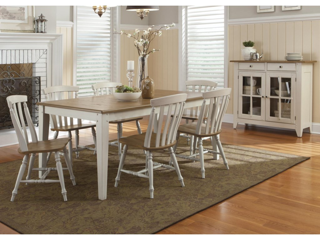 Liberty Furniture Al Fresco IIIFormal Dining Room Group
