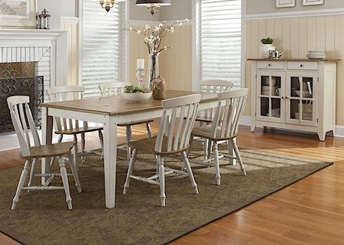 Liberty Furniture Al Fresco III Dining Room Group 3