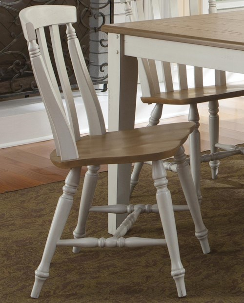 Liberty Furniture Al Fresco III Side Chair with Slat Back