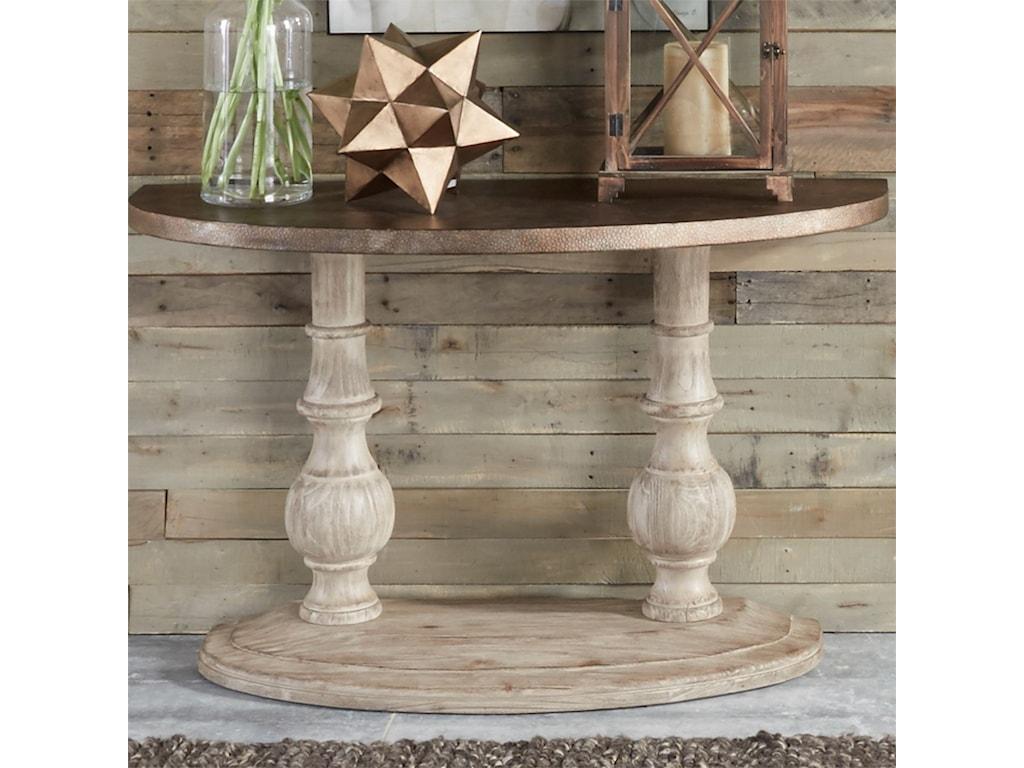 Vendor 5349 AlamosaAlamosa Half Moon Sofa Table