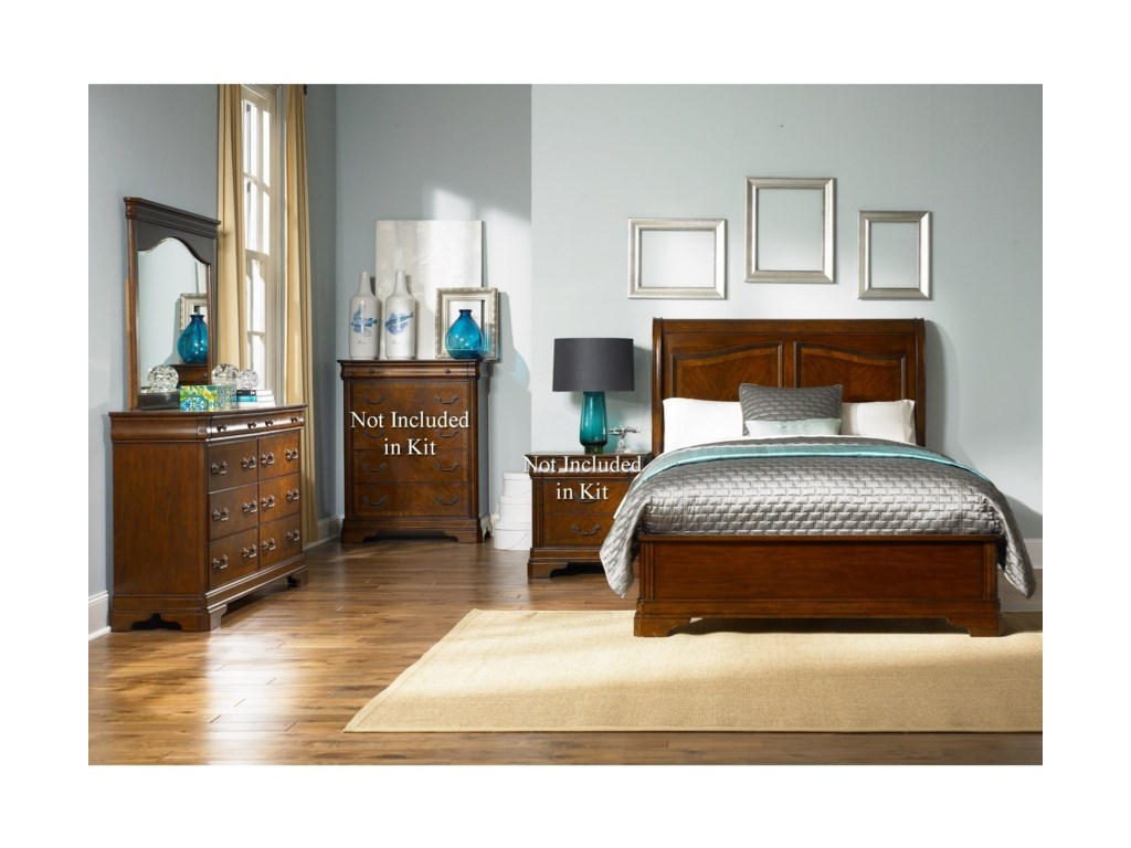 Liberty Furniture AlexandriaQueen Bedroom Group
