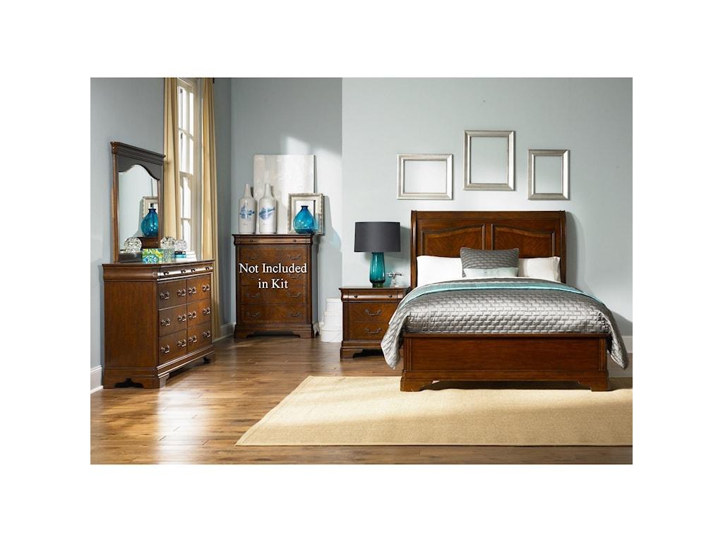 Liberty Furniture AlexandriaQueen Bedroom Group