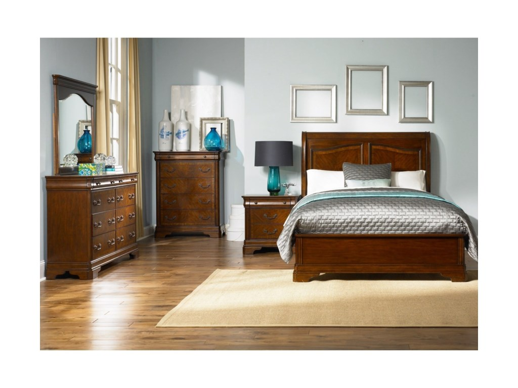 Liberty Furniture AlexandriaKing Sleigh Bed