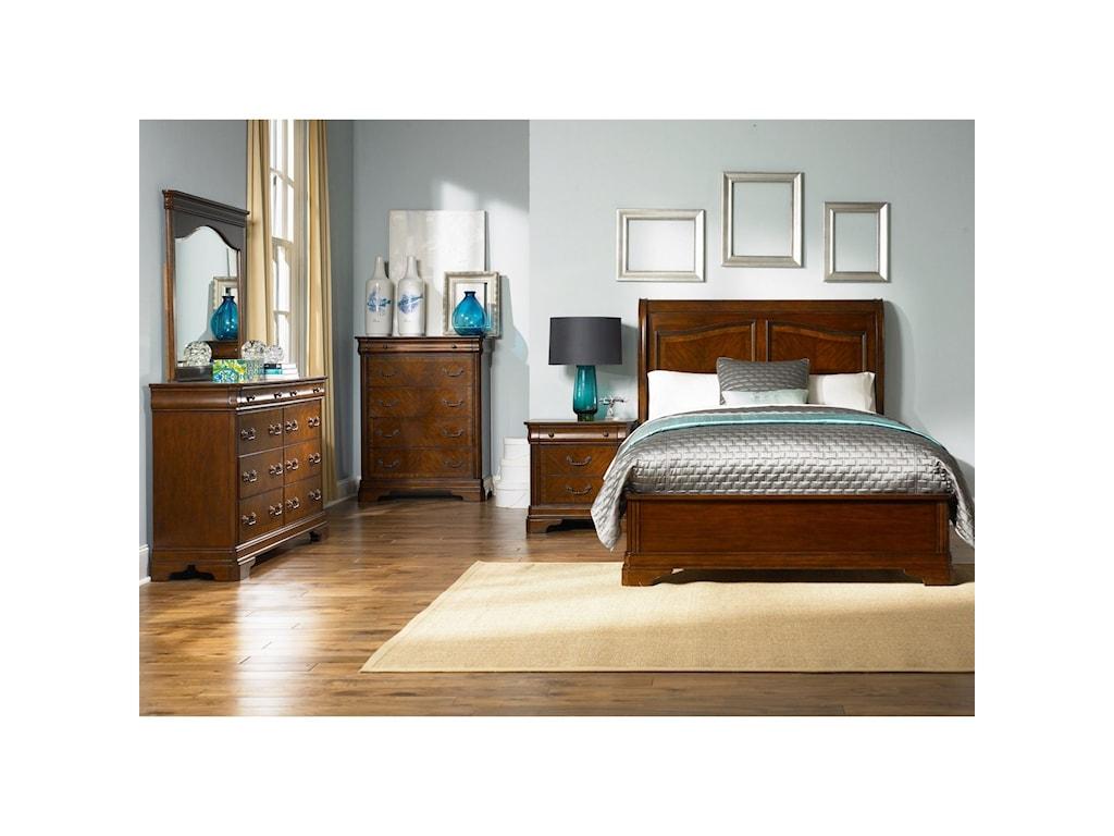 Liberty Furniture AlexandriaQueen Sleigh Bed