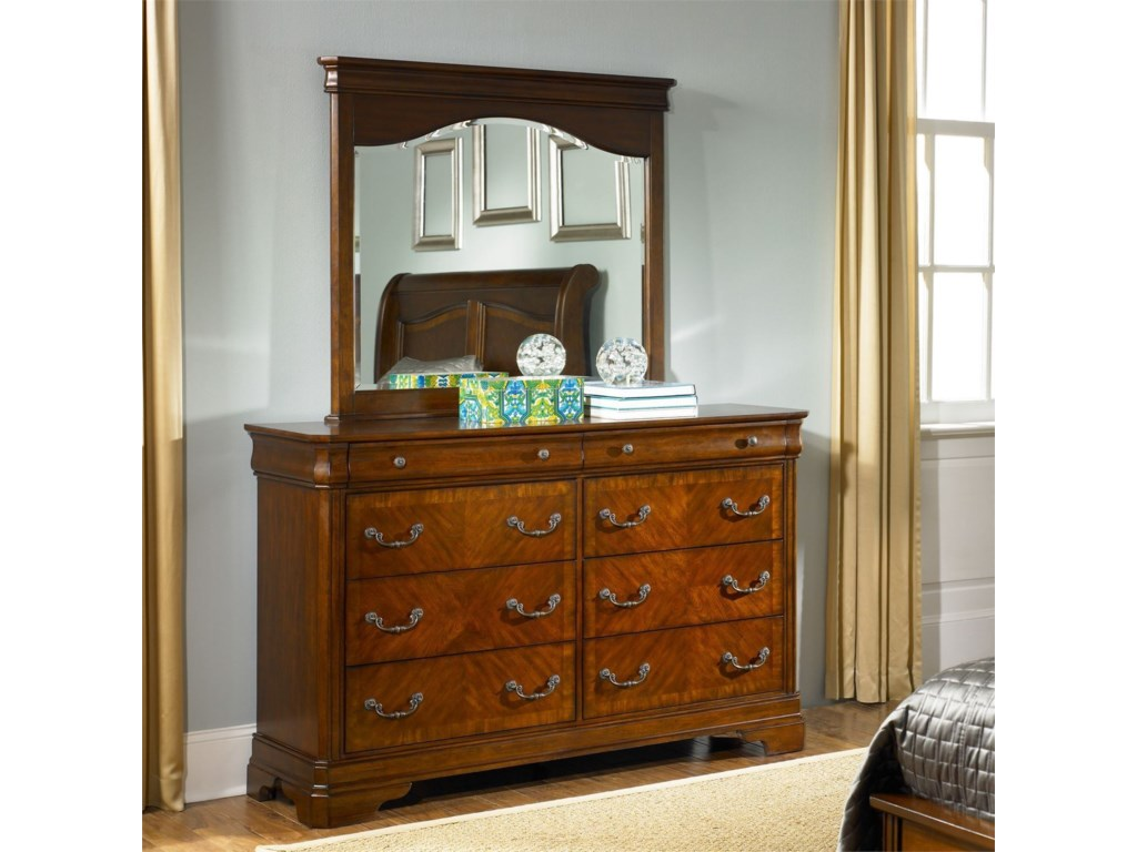 Vendor 5349 Alexandria8 Drawer Dresser