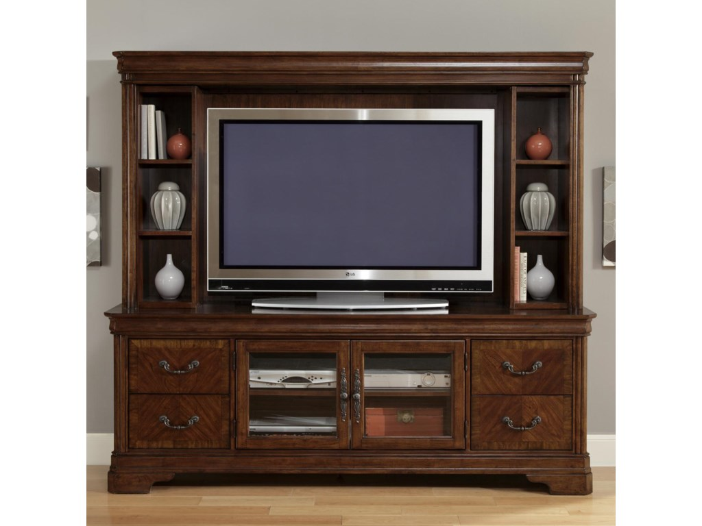 entertainment units with cabinet cabinfield shelf and mill cabinets hutch media tv optional amish tower cable centers daxbbeomlj