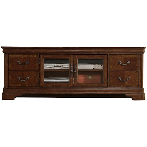 Liberty Furniture Alexandria 2 Door Entertainment TV Stand with Drawers