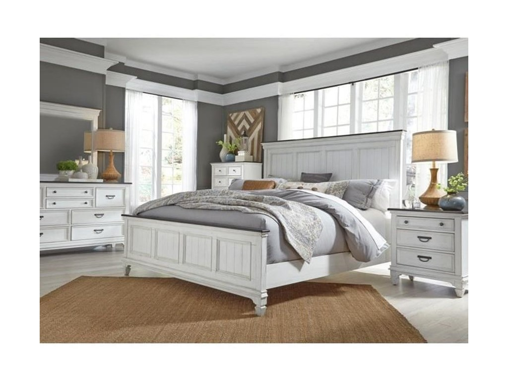 Liberty Furniture Allyson ParkKing Panel Bed
