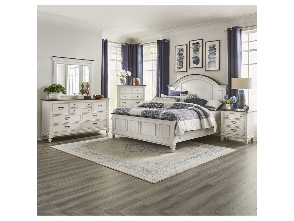 Liberty Furniture Allyson ParkQueen Bedroom Group