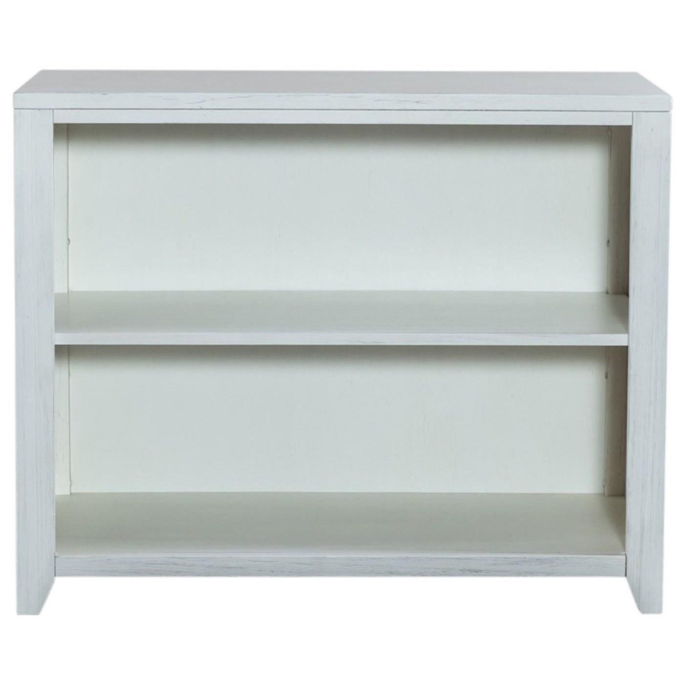 Kid's 2-Shelf Low Bookcase