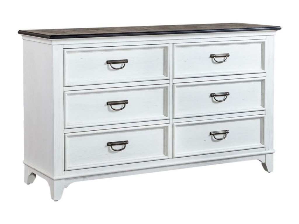 Liberty Furniture Allyson Park6-Drawer Dresser